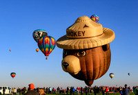 Albuquerque Balloon Fiesta & Bearizona 10-2015